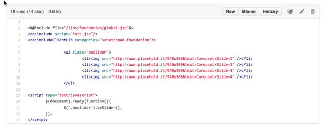 Image 6: Carousel Code